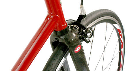photo of Iride bicycle fork choice 1. full carbon fiber
