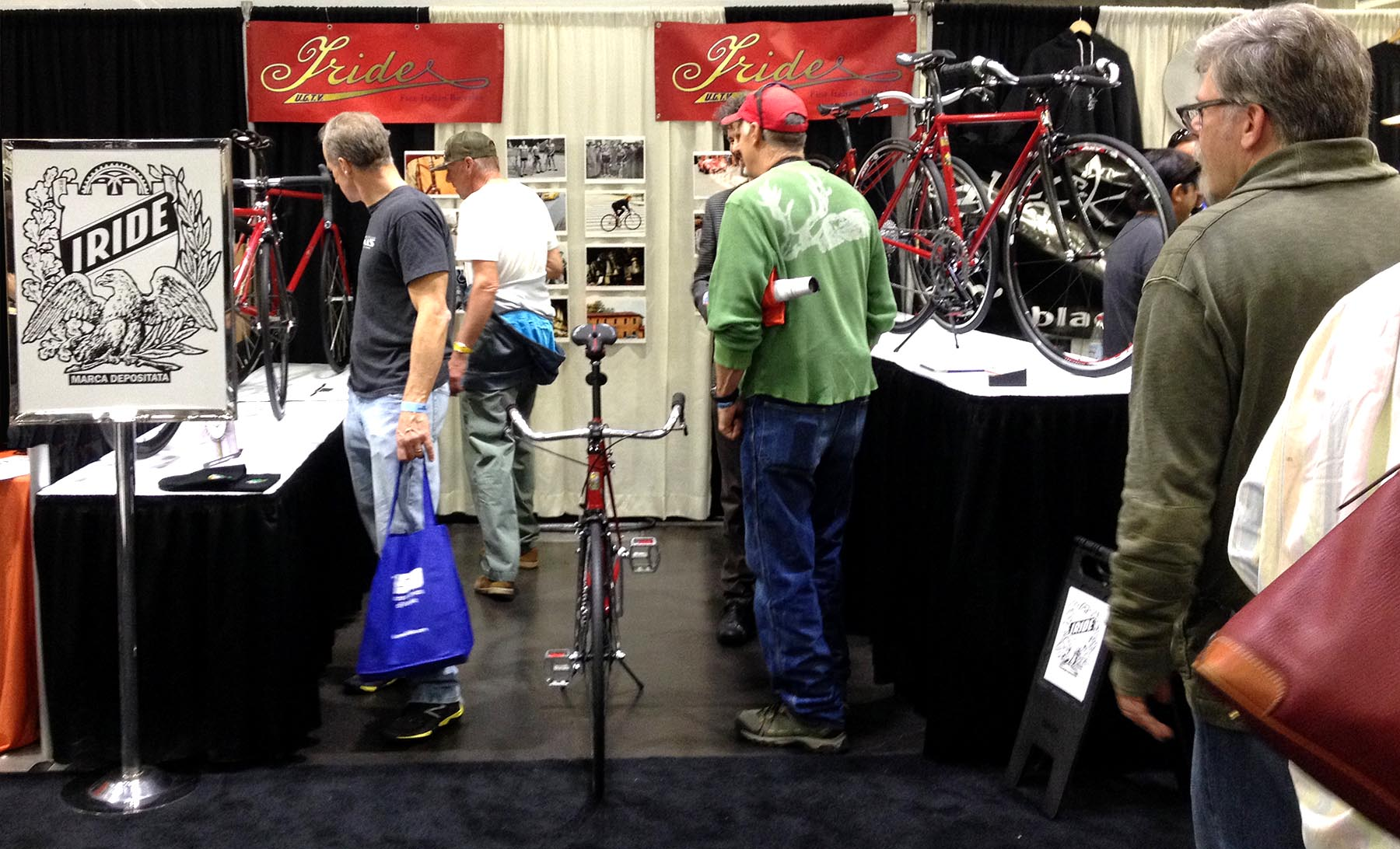 Photo of Iride Bicycles impressing people
