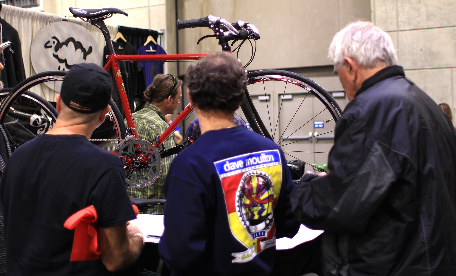 Iride bicycles inspire inspection