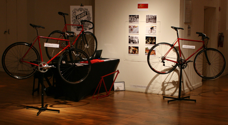 Photo of Show-booth-for-Iride-fine-italian-bicycles-at-Rand-Luxury-Review-event-manhattan-nyc-NY,ny-trade-show-exhibit-beauty-city